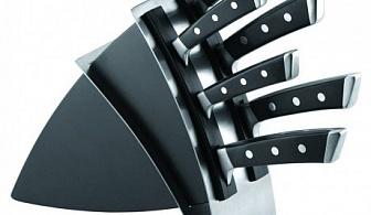 Комплект от 6 ножа със стойка Tescoma от серия Azza