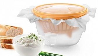 Комплект за приготвяне на цедено мляко Tescoma от серия Della Casa