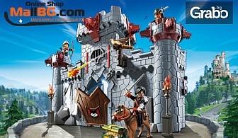 """Комплект """"Замък на черния барон""""на Playmobil"""