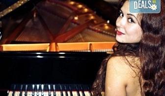 """Концерт на Десислава Бобрина – пиано (Русия) в афиша на МФ """"Софийски музикални седмици"""", 1-ви юли (събота), Камерна зала """"България""""!"""
