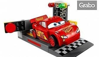 """Конструктор """"Speeding car McQueen""""с функция за изстрелване"""