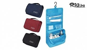 Козметичен несесер, чанта за тоалетни принадлежности за пътуване с много прегради, от Svito Shop