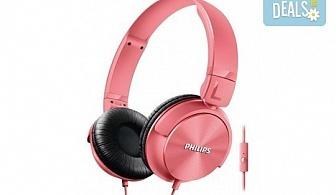 Красив аксесоар за Вас или приятелка! Дамски слушалки Philips SHL3065 тип диадема с микрофон!