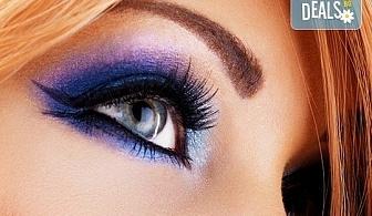 Красив поглед! Поставяне на мигли косъм по косъм - копринени или от норка при специалист естетик в Салон Miss Beauty!