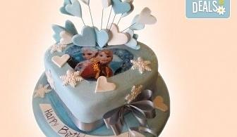 Красиви детски торти за момичета с принцеси и приказни феи + ръчно моделирана декорация от Сладкарница Джорджо Джани