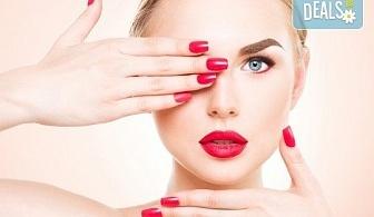 Красиви нокти! Изграждане на ноктопластика с гел SNB и маникюр с обикновен или гел лак в салон за красота Madonna!