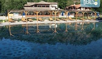 До края на септември в хотел Петрелийски 2*, с. Огняново: Една нощувка със закуска и вечеря, безплатно за дете до 2.99г.