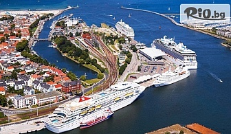 "Круиз ""Бели нощи и норвежки фиорди"" - Варнемюнде, Копенхаген, Флом, Берген, Кристиансан, Орхус! 7 нощувки на база пълен пансион на 5* кораб + самолетни билети, от Травел Холидейс"