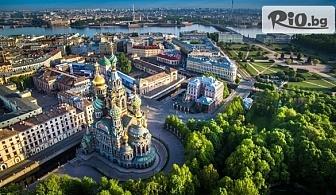 "Круизен пакет ""Балтийска сага"" - Стокхолм, Хелзинки, Санкт Петербург и Талин! 7 нощувки  на 5* кораб, самолетни билети с полет от Бургас, от ТА Травел Холидейс"