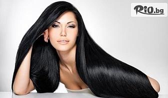 Ламиниране на коса с преса Corioliss K5, с ампула кератин или арган, от Ti AMO Beauty Studio