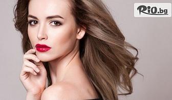 Ламиниране на коса с продуктите на ESTEL или Davines + оформяне с 51% отстъпка, от Салон за красота Омая