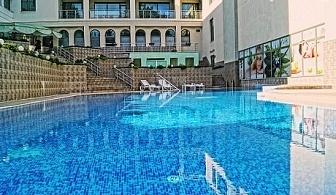 Last Minute на СУПЕР ЦЕНА от 15.05 до 31.05 във Велинград. Делнична СПА почивка + минерален басейн + Една или две нощувки със закуски, обеди и вечери в Хотел Здравец Уелнес и СПА****