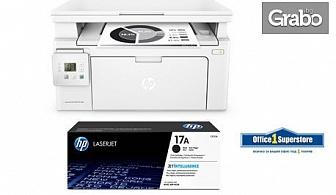 Лазерен принтер HP LaserJet Pro и оригинален тонер HP, с безплатна доставка
