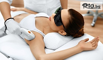 Лазерна епилация за жени на зона по ибор или на цяло тяло - цели крака, 1/2 ръце, интим и мишници, от Салон за красота Монтоне