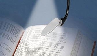 LED лампа за четене с клипс