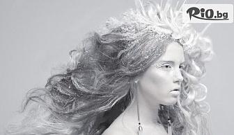 Ледена терапия за коса за моментално възстановяване на изтощена и третирана коса, от Салон за красота Скарлет