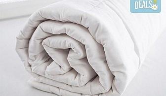 За лек и спокоен сън! Вземете лятна олекотена завивка от висококачествена микрофибърна материя с размери 150х210 или 195х215 см от Спално бельо БГ и безплатна доставка за София!