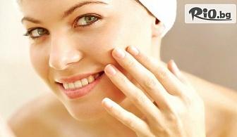Lift age процедура на лице шия и деколте или Класическо почистване на лице, от Салон Ексито