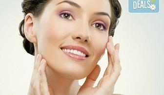 Лифтинг масаж на лице плюс деколте и маска според типа кожа от салон Ева