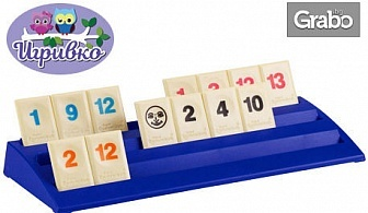 "Логическа и образователна игра ""Руммикуб: Турбо""или ""Руммикуб: Безкрайност"""