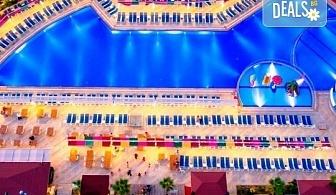 Луксозна All Inclusive почивка през август в Анталия, Турция! 7 нощувки в хотели 5* по избор, самолетни билети, летищни такси и трансфери!
