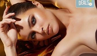 Луксозна грижа за кожата! Безиглена мезотерапия на лице с хиалурон и колаген, криотерапия с ботокс и златна маска в Изабел Дюпонт студио и магазин за красота!