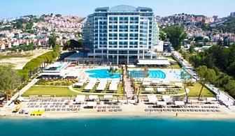 Луксозна Нова година в Кушадасъ, Турция! 4 нощувки на база All Inclusive ULTRA + новогодишен куверт в хотел Amara Sea Light 5*