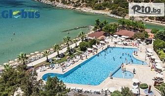 Луксозна почивка на брега на морето в Кушадасъ! 7 нощувки на база All Inclusive в Хотел TUSAN BEACH RESORT 5*, със собствен транспорт, от Глобус Холидейс
