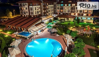 Луксозна почивка край Банско до края на Ноември! Нощувка със закуска + басейни и СПА, от Мурите клуб хотел 4*