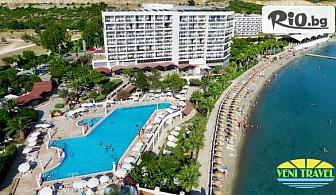 Луксозна почивка в Кушадасъ! 7 нощувки на база All Inclusive в Tusan Beach Resort 5*, от Вени Травел