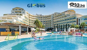 Луксозна почивка в Кушадасъ! 5 или 7 нощувки на база Ultra All Inclusive в Sea Light Resort Hotel 5* + безплатно за деца до 12.99 г, от Глобус Холидейс
