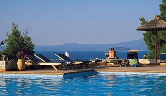 Луксозна почивка през Април и Май - Хотел Kappa Resort с чадър и шезлонг на плажа, открит басейн и безплатен паркинг / 20 Април 2018 до 31 Май 2018