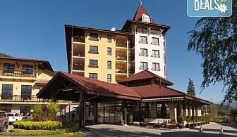 Луксозна СПА почивка Гранд Хотел Велинград 5*, Велинград! Нощувка със закуска и вечеря, позлване на СПА зона за релакс и минерален басейн, безплатно за дете до 5.99 г.
