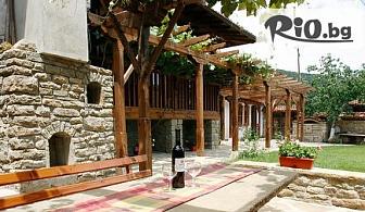 Лятна почивка в архитектурен резерват Жеравна! Нощувка със закуска или със закуска и вечеря, от Къщата с Лозницата
