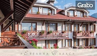 Лятна почивка в Банско! Нощувка със закуска, обяд и вечеря, плюс ползване на басейн и сауна