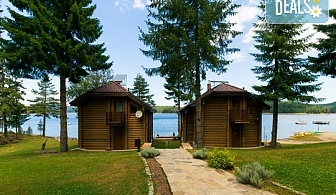 Лятна почивка в Батак, язовир Широка поляна! От юли до септември нощувка във вила за 4 или 6 човека + безплатно ползване на фитнес и дете до 2.99г - безплатно