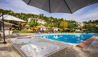 Лятна почивка на Халкидики: 3, 5 или 7 нощувки на база закуска и вечеря в хотел Koviou Holiday Village 3* за цени от 339 лв ЗА ДВАМА