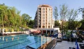 Лятна почивка 2017 в лукс хотел, 5 дни Аll Inclusive, чадър и шезлонг на плажа от 23.08 в Хотел ЛТИ Долче Вита, Златни пясъци