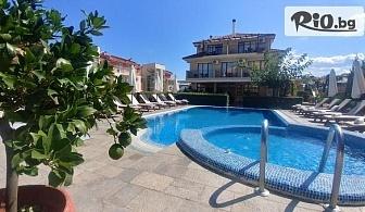Лятна почивка в Созопол! Нощувка + басейн, чадър и шезлонг, от Хотел Музите 3*
