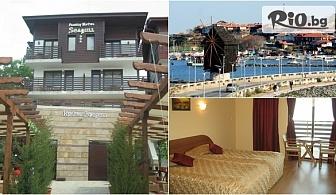 Лятна почивка в стария град на Несебър! Нощувка на 150 метра от плажа в Семеен хотел Сийгъл 3*