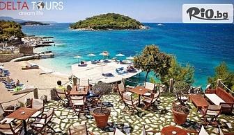 Лятна почивка в тропическия рай на Албания - Саранда! 6 нощувки със закуски и вечери в Хотел Vola 3* + транспорт, целодневна екскурзия до плаж Ксамил и посещение на Йоанина, от Делта Турс