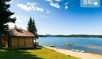 Лятна почивка във Вилно селище Романтика Форест 2*, Батак! Нощувка във вила, ползване на джакузи, сауна и парна баня, безплатно за дете до 2.99г.!