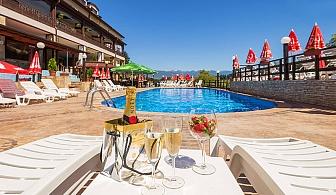 Лято в Аспа Вила, с. Баня, до Банско. Нощувка, закуска и вечеря + открит минерален басейн, джакузита и СПА!
