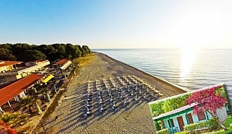 Лято 2017 на брега на морето в Гърция! Нощувка, закуска, вечеря - БОНУС обяд + чадър за плажа и анимация за деца в Olympios Zeus***, Платамонас