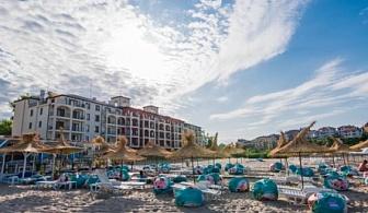ЛЯТО В ЦАРЕВО НА СУПЕР ЦЕНИ ЗА ЦЯЛО ПОМЕЩЕНИЕ ОТ хотел Примеа Бийч Резиденс ! Нощувка със закуска + ползване на чадър и шезлонг на басейна!!!