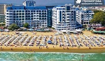 Лято в Чайка Ризорт (12.7-22.8), Слънчев бряг. All inclusive за двама + дете до 12г. (изглед море)