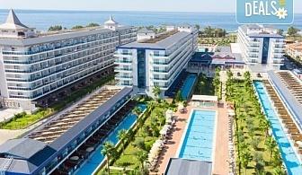 Лято 2020г. в Eftalia Marin 5*, Алания! Почивка със 7 нощувки на база Ultra All Inclusive и възможност за транспорт