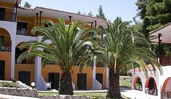 Лято на Халкидики: 3, 5 или 7 нощувки + закуски + вечери в хотел Kassandra Bay Village*** за 107 лв