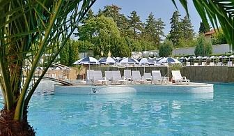 Лято в хотел Аугуста, Хисаря! Нощувка през делничните дни за двама,трима или четирима със закуска и вечеря + външен басейн и релакс пакет