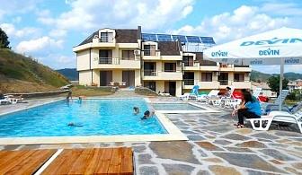Лято в Хотел Енчеви, с.Кирково! Нощувка на човек със закуска и вечеря + басейн